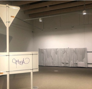'The archaeology of the discarded, forgotten and thrown away installation view at The Suter Art Gallery, Nelson